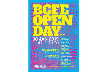 BCFE Open Day Poster
