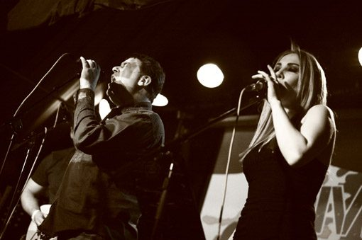 The Vagabonds at the Grand Social on 2nd March 2016