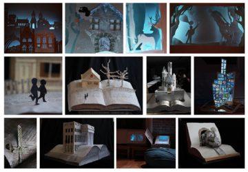 Art Design & Three Dimensional Studies students exhibit sculpture books at this year's Dublin Book Festival