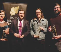 TV and Animation students win Royal Television Society award