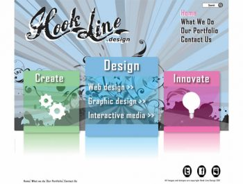 Hook Line Design Team Interface by Dermot Garland, Sean Kilbride & Alan Menton 2011