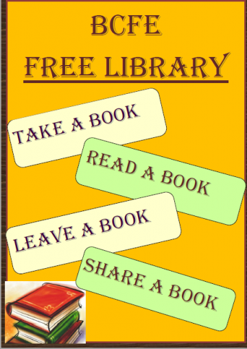 Free Library - 'Take One, Leave One, Share One'