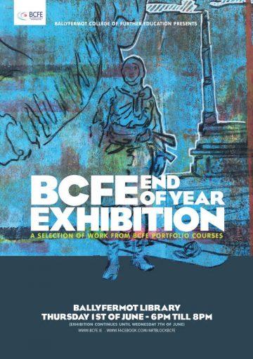 BCFE portfolio courses end of year exhibition