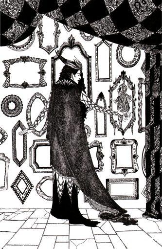 From 'Tangleweed & Brine'. Illustration by Karen Vaughan