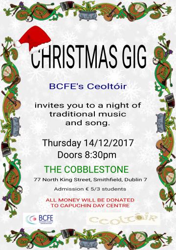 Ceoltoir Christmas Gig 2017