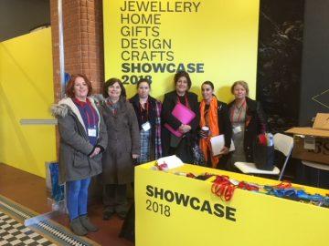 Fibre Art students at Showcase 2018