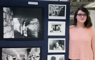 Alannah Flynn exhibition photo