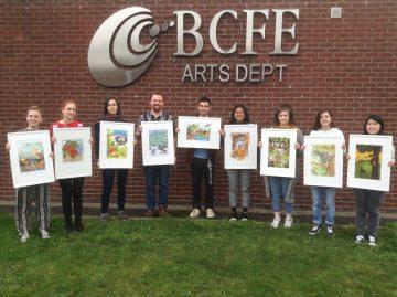 BCFE arts students
