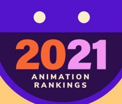 2021 Animation Rankings